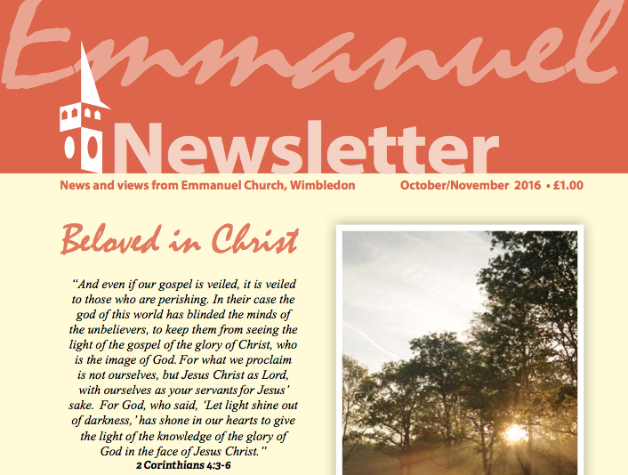 Oct-Nov-16 Emmanuel Newsletter